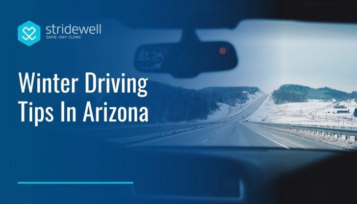 Winter Driving Tips in Arizona